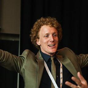 Ruben de Neef, e-health specialist bij Luscii en lid Jonge Zorgdenktank