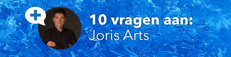Q&A 10 vragen aan Joris Arts