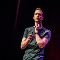 2018 Peter Joosten Biohacker, DIY futurist - Photo by TEDx Delft | De Zorgsprekers
