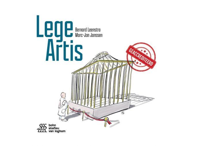 Lege Artis, een gedichten bundel door Zorgspreker Bernard Leenstra en gynaecoloog en illustrator Marc-Jan Janssen