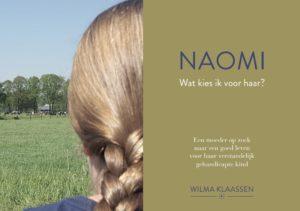 Naomi - omslag voorkant Zorgsprekers Wilma Klaassen