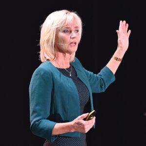 Nancy Rademaker is Zorgspreker, internationale keynote spreker met 20 jaar ervaring binnen IT